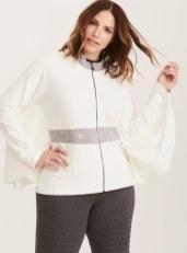 Her Universe Princess Leia white cape sweatshirt