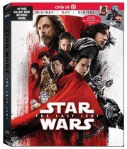 The Last Jedi Blu-ray (Target)