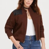 Torrid/Her Universe Solo faux leather twill jacket