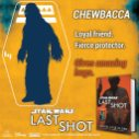 Forget about Chewie at your own arms' risk. #LastShot #MeetTheCrew