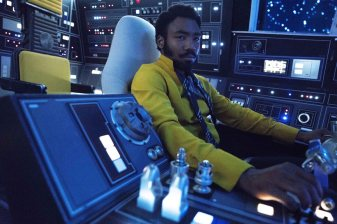 Solo - Lando in the Falcon
