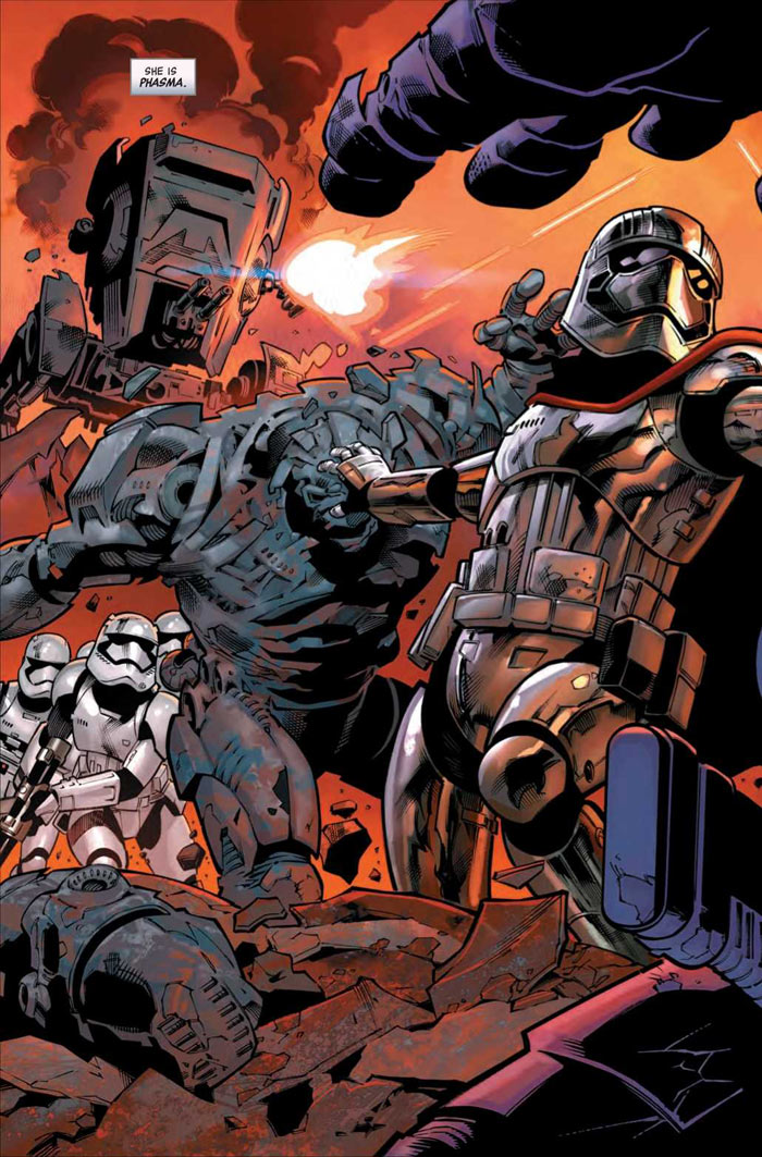 Age of Resistance: Captain Phasma (Preview 2/3)
