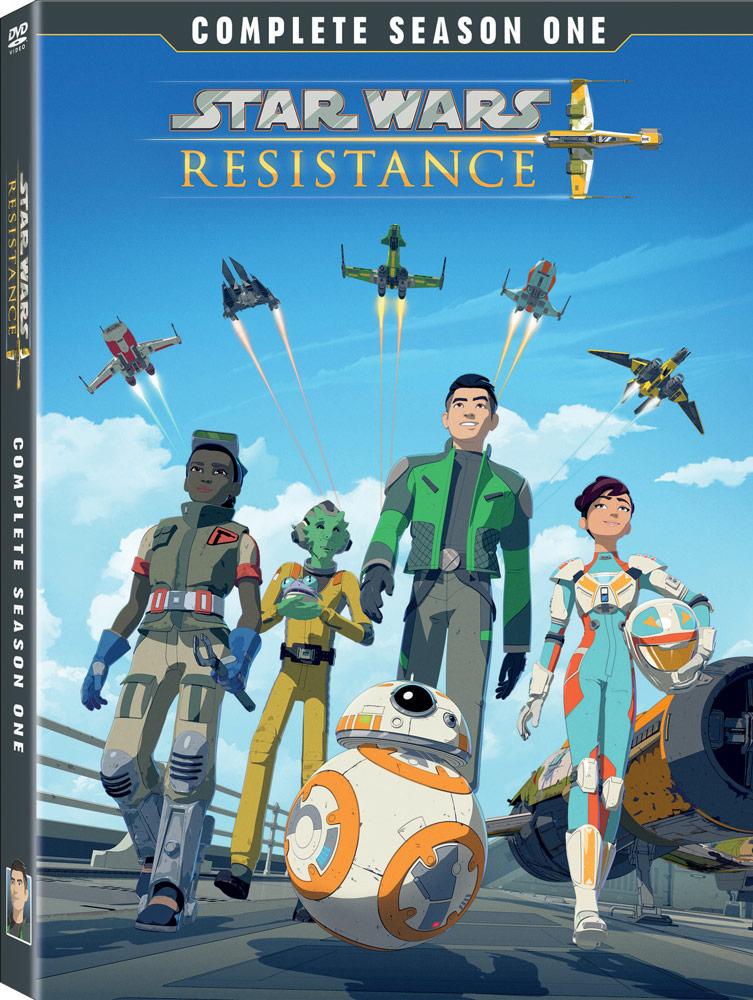Star Wars Resistance S1 (DVD)