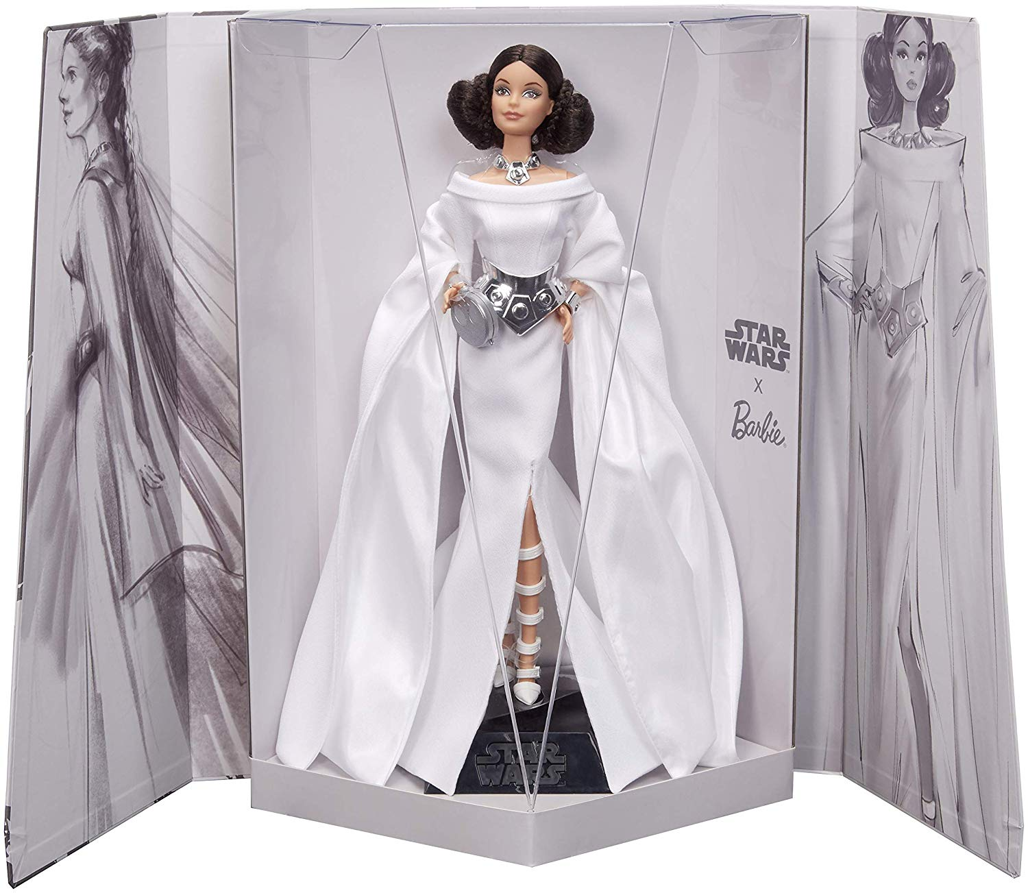 Leia Barbie in box
