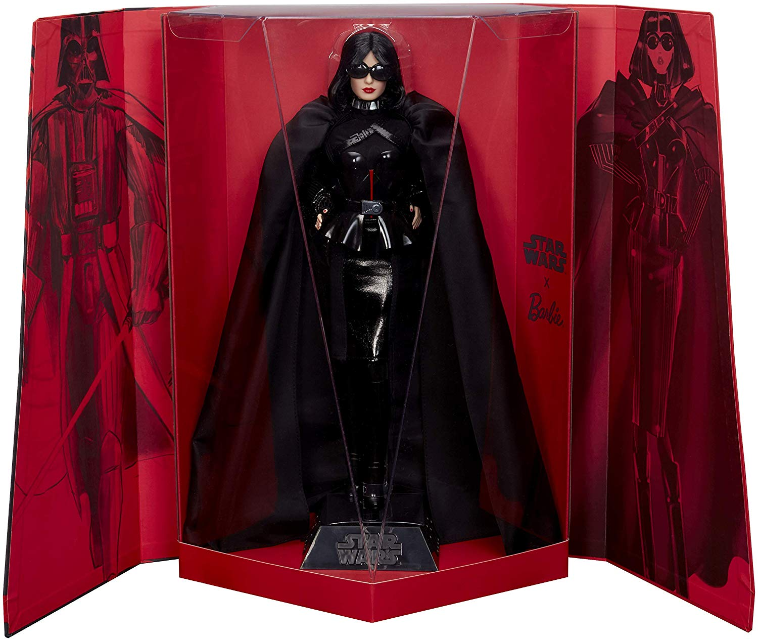 Vader Barbie in box
