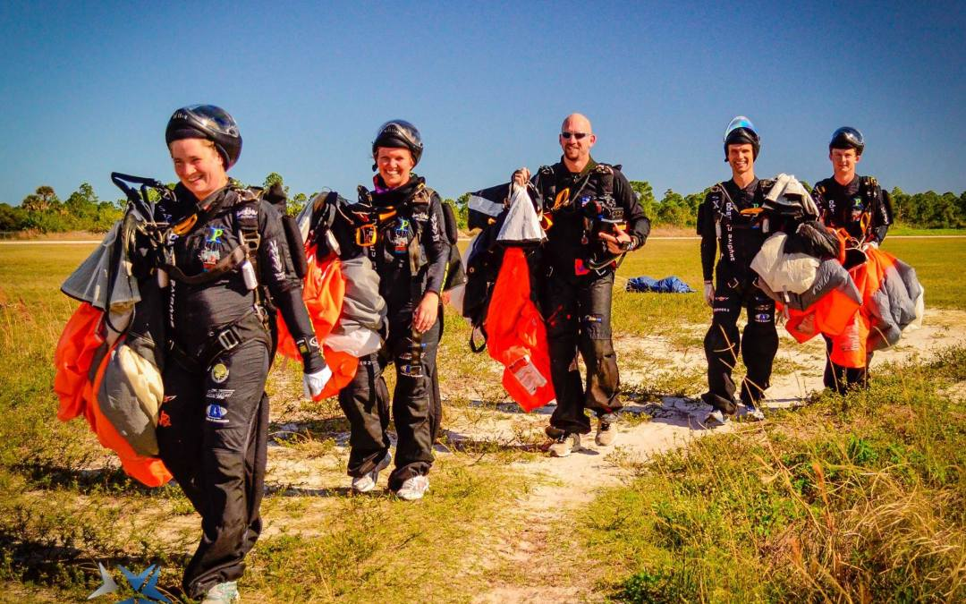 Team Rhythm Pro Skydive Organizing