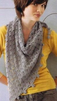 Haakpatroon Vierkantjes Sjaal