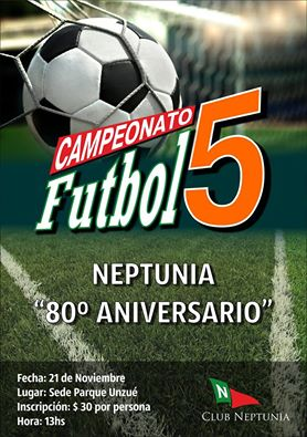 Futbol 5: Torneo 80° Aniversario