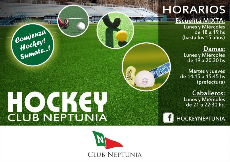 Comienza el Hockey sumate!!