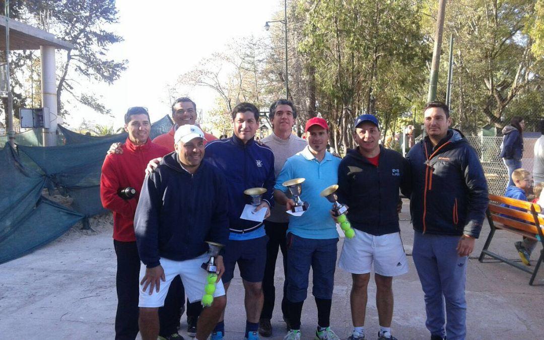 TENIS: Valiero, Caballero y Borcard los ganadores de la 3° Fecha