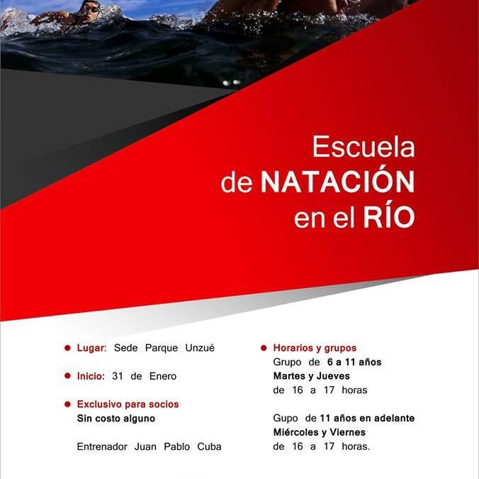 NATACIÓN: APRENDE A NADAR EN EL RIO
