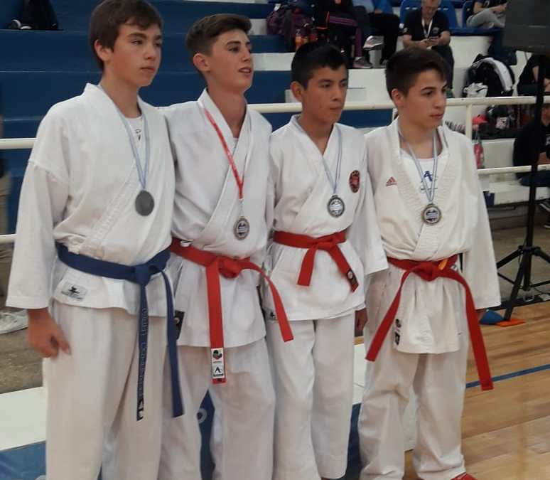 Presencia histórica de karatecas de Neptunia en el CENARD