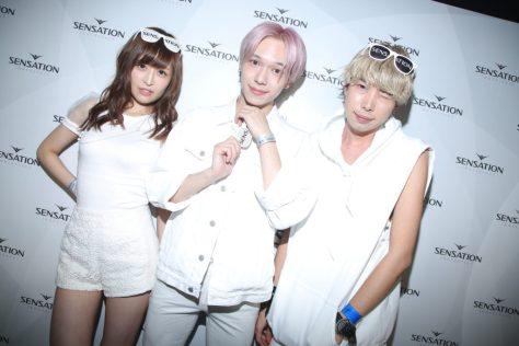 ぴちゅ・NAOPIS白コーディネート- センセーション2016 ホワイトコーディネート例