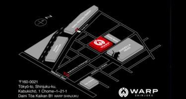 新宿クラブワープ - CLUB WARP SHINJUKU