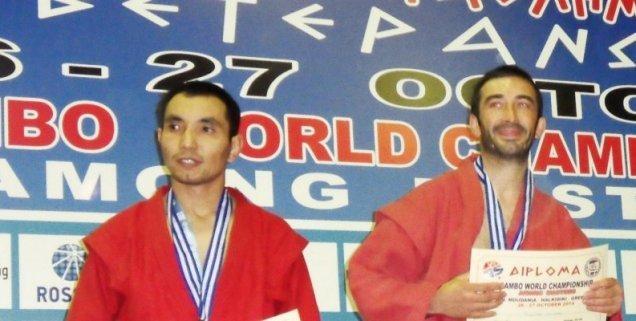 Rouyer Champion du Monde Sambo 2015 Masters