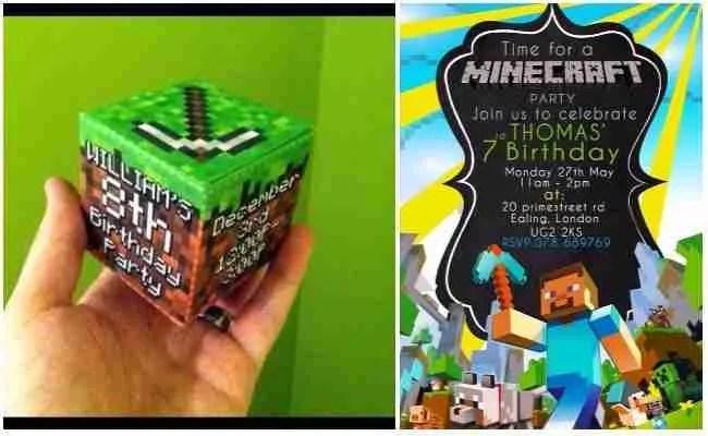 Minecraft birthday invitations printable free invsite minecraft birthday invitations free printable filmwisefo