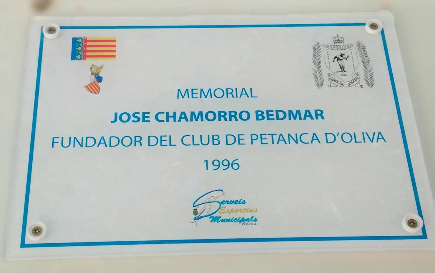 17 DE AGOSTO 2019 TROFEO A LA MEMORIA JOSE CHAMORRO