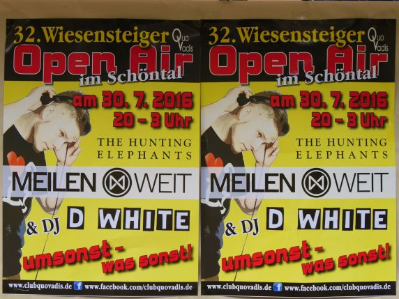 32. Wiesensteiger Open Air, Club Quo Vadis
