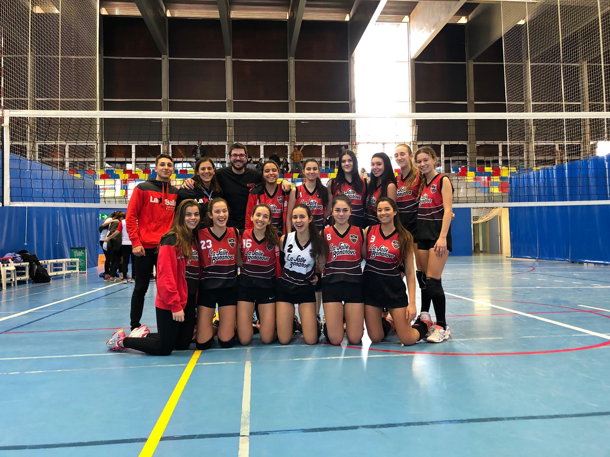 El Juvenil De Voleibol Jugarà La Final De La Copa De Bcn