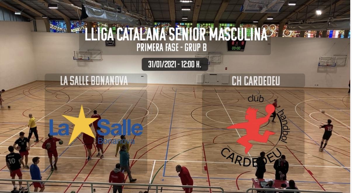 Victòria Del CE La Salle Bonanova VS CH Cardedeu