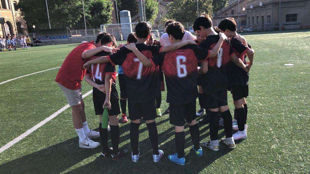 Crònica Del Partit De L'Aleví B De Futbol