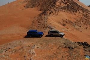 Fascynujące pustynie w Dubaju