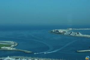 Jachtem po Zatoce Perskiej w Dubaju