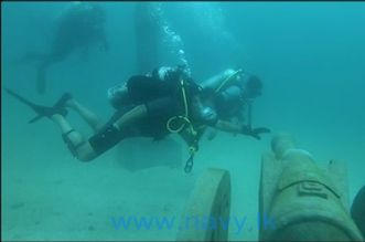 sri lanka underwater museum trinco sandy bay beach east coast dive (6)