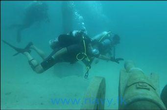 sri lanka underwater museum trinco sandy bay beach east coast dive (6)