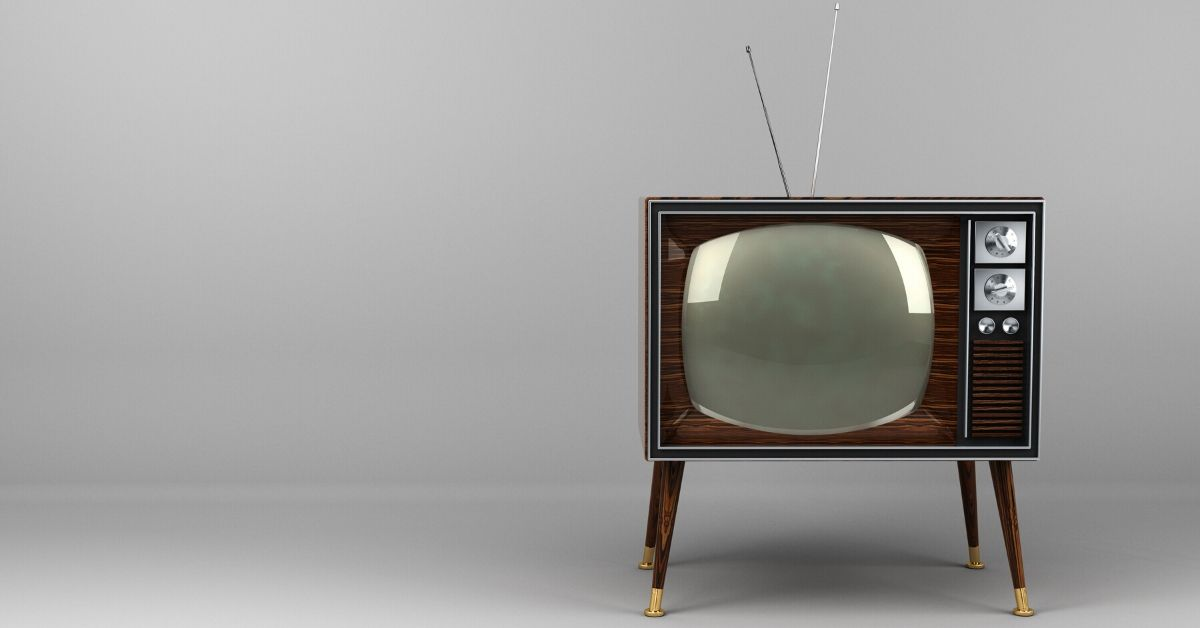 Saving Money Cut the Cord to Cable TV - picture of 1950s TV