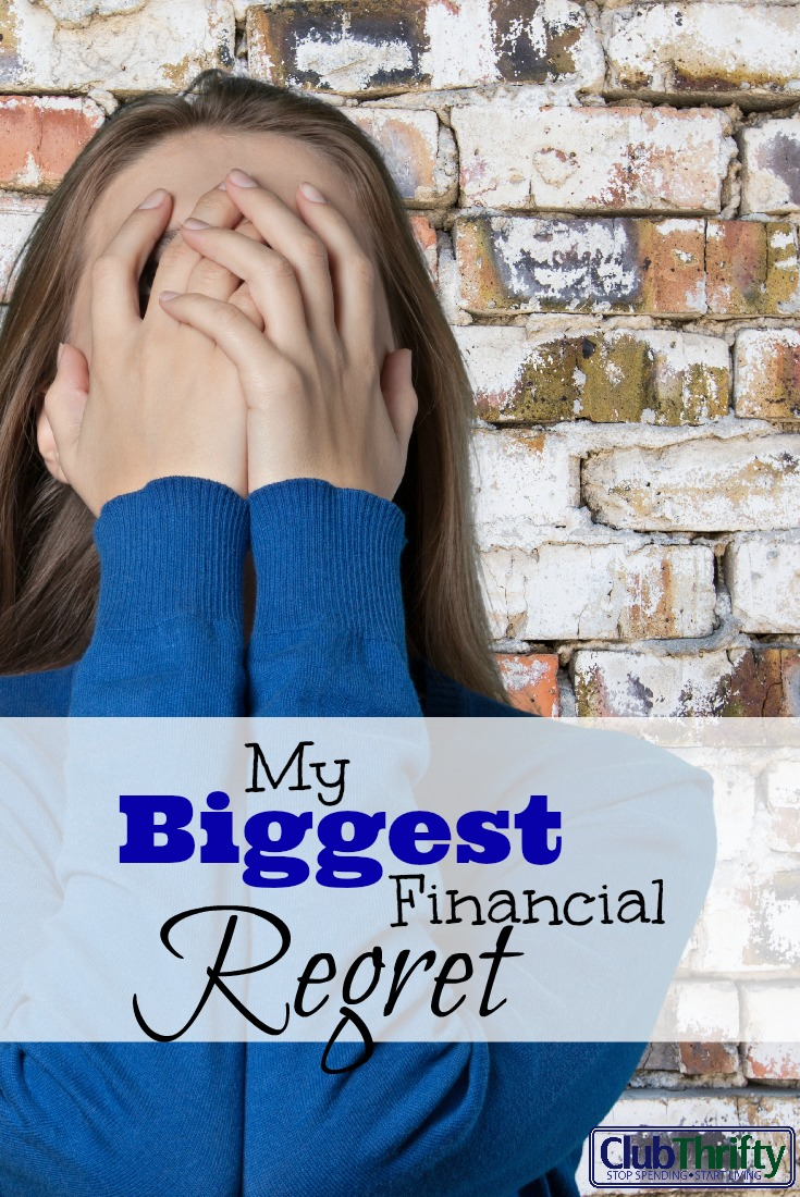 Everyone makes financial mistakes, including me. Here are my biggest financial regrets and reasons why I won't make these mistakes again.