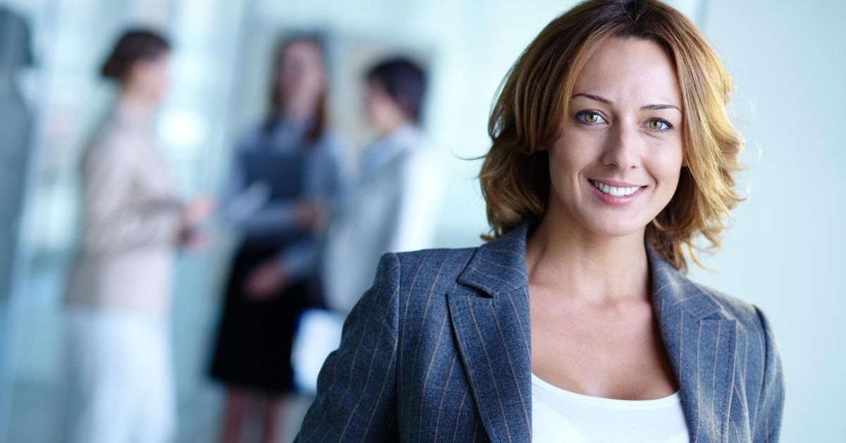 Working as an Employee - picture of woman employee in business suit
