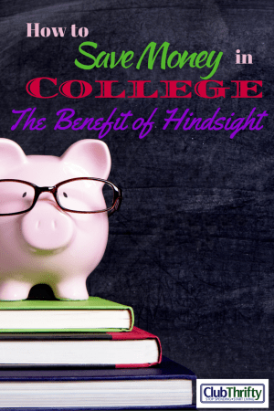 I'm old now, but I was a young whippersnapper once. Unfortunately, I had no clue how to save money in college. Here's some things I learned the hard way.
