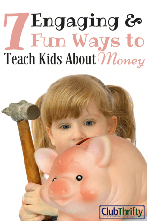 We all want our kids to learn great habits - especially with money. There are lots of fun ways to teach kids about money. Use these ideas to start today.