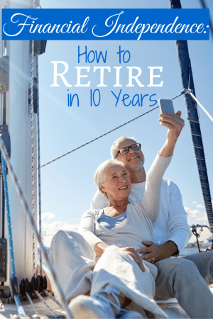 Are you tired of working? Do you want to enjoy life without work? Learn how to reach financial independence and retire within the next ten years!