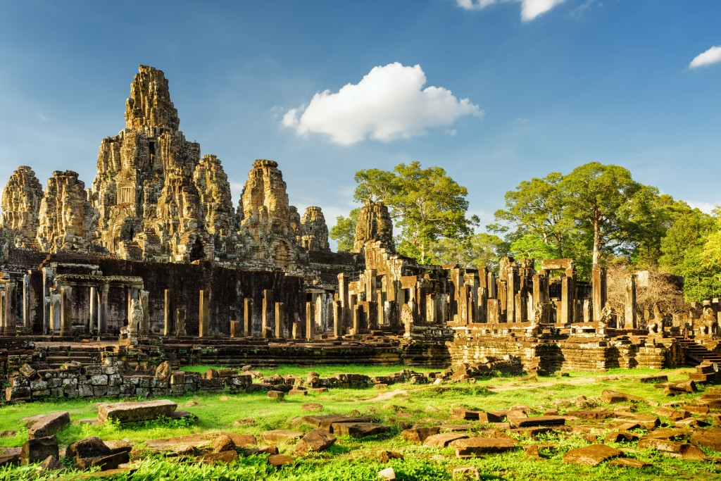 great value vacations - Bayon Temple Cambodia