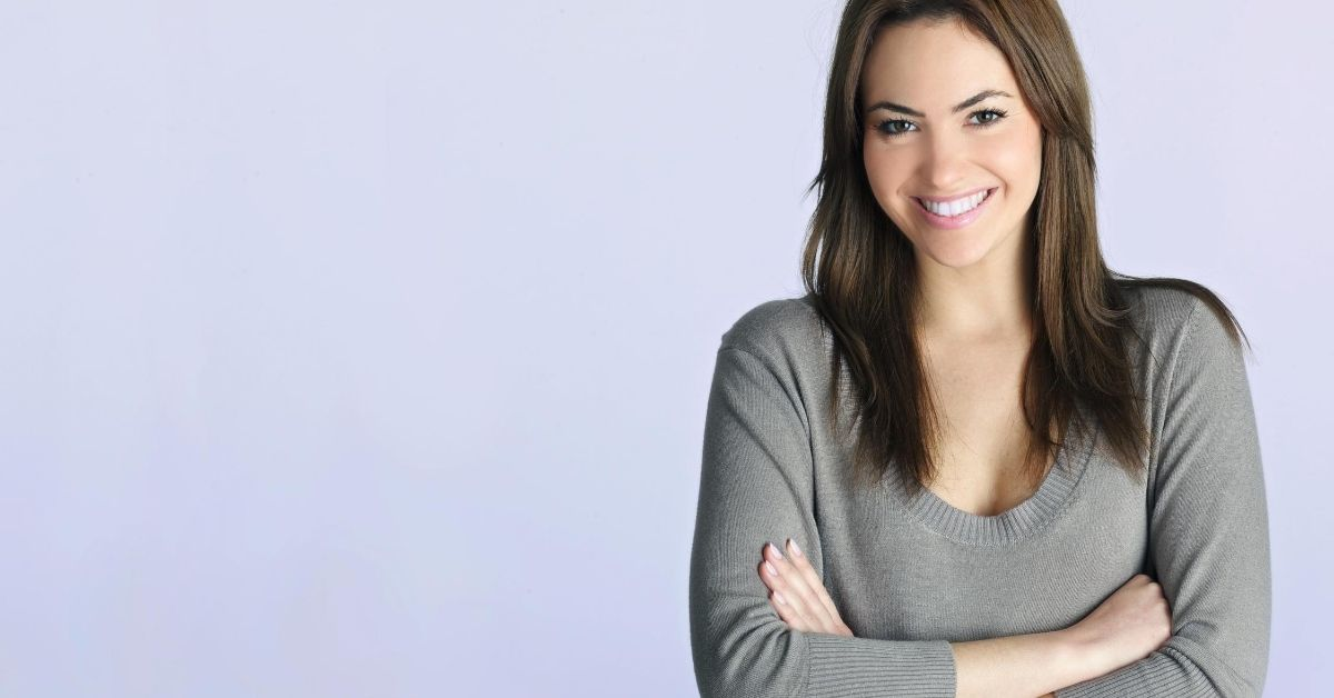 Managing Your Credit - picture of smiling woman