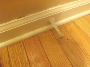 Clean your baseboards, people!