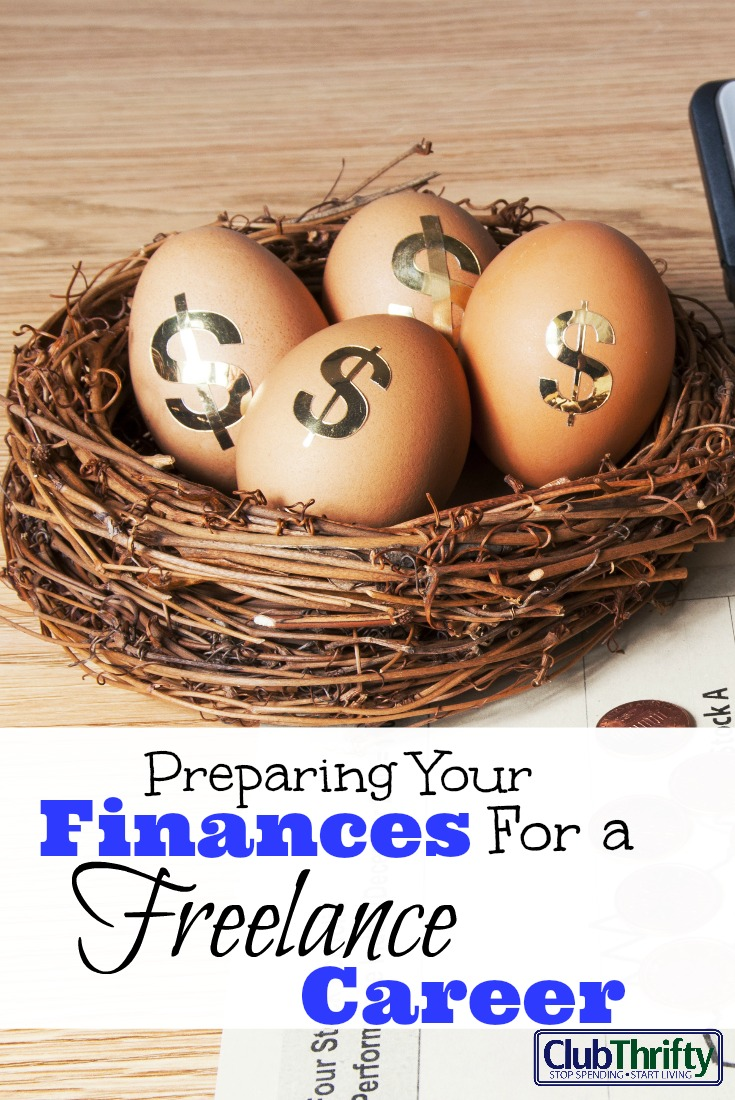 If you want to begin a freelance career, you need to take the proper financial steps ahead of time. Learn what you should do before taking the plunge.