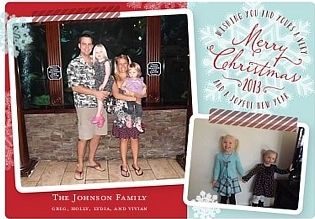 My Awesome Shutterfly Christmas Card