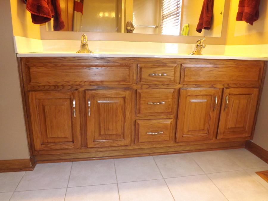 Luxury My Frugal Bathroom Cabinet Remodel