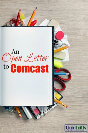 I've been dealing with Comcast for three months now, and I've finally had enough. Click here to read my open letter to Comcast.