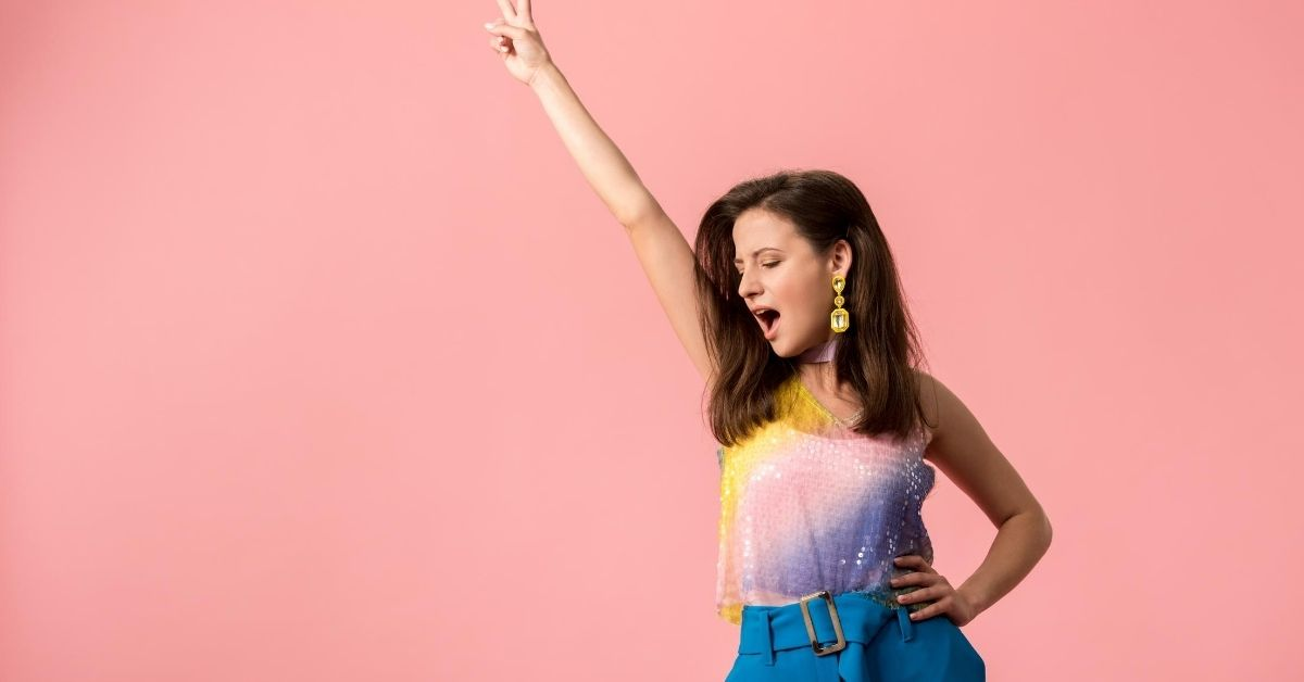 How Would You Spend $6,500 - picture of disco girl with one hand in air