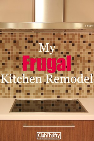 We bought a new house this year, and the kitchen was in dire need of some help. Read about our frugal kitchen remodel (and see pics) in this post.