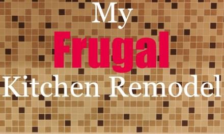 My Frugal Kitchen Remodel