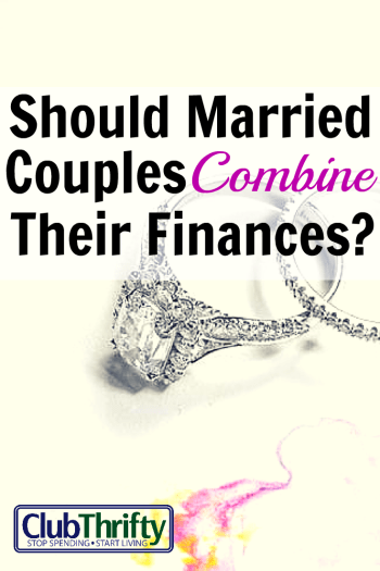 Hot Topic Alert: Should married couples combine finances? You gotta know that I have a lot to say about this topic. Check my thoughts out here!