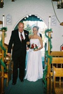 holly wedding