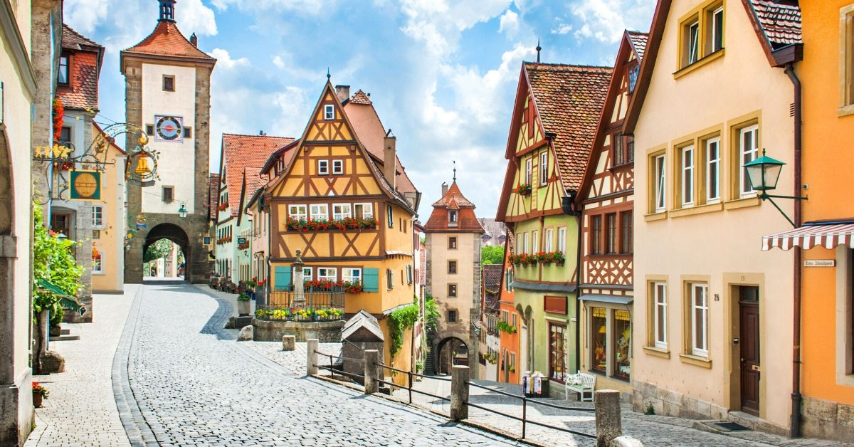 How Much Should You Budget for a Trip to Europe - picture of street in Germany