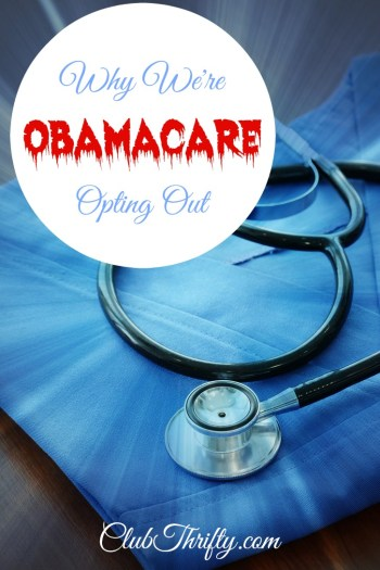 Tens of thousands of families are opting out of Obamacare due to its incredibly high costs. Here's why we're joining a healthcare sharing ministry instead.