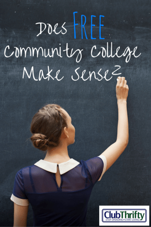 The problem with free community college? Someone has to pay for it. Read this post on why community college may not be a great idea after all.